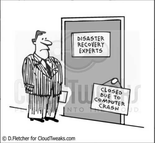 Disaster recovery experts closed