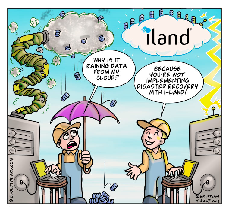 iLand Comic